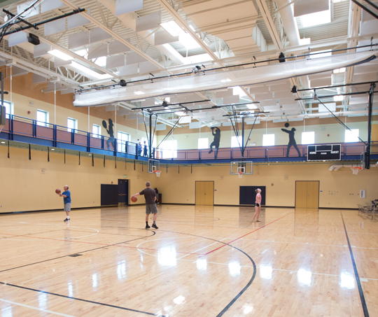 Community Recreation Center Gym